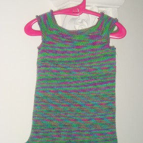 Faith's knitted top