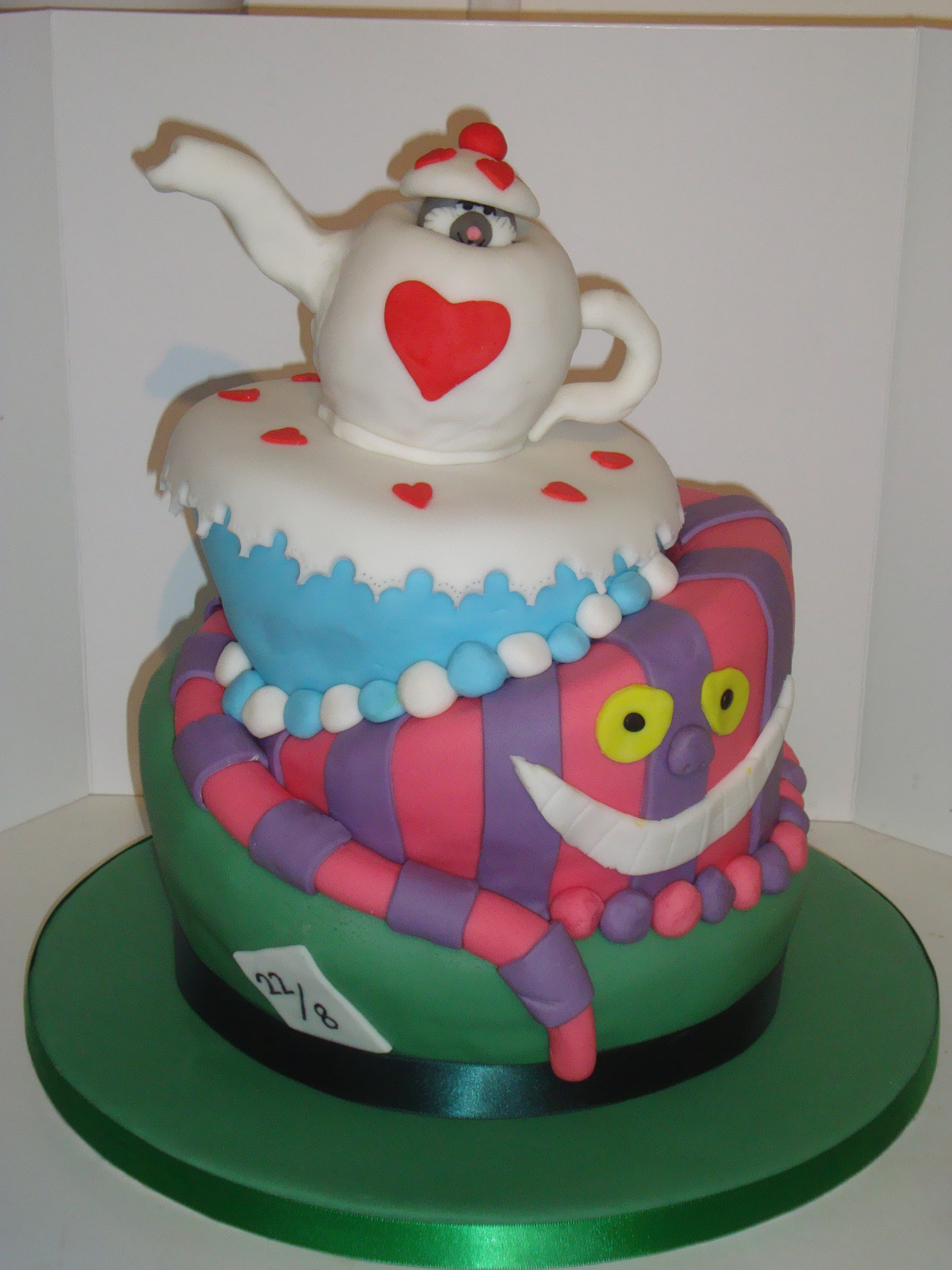 Mad Hatters Tea Party Cooking Cakes Children