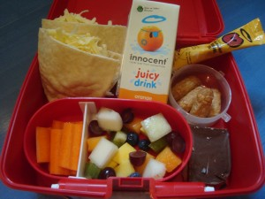 lunchbox contents