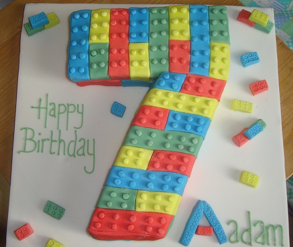 Cake Design For 7th Birthday Boy : Lego birthday cake Cooking, Cakes & Children