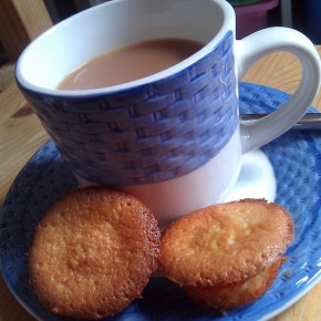 Forever Nigella - Easy almond cakes