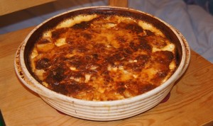 Cheesy Leek and Potato Bake