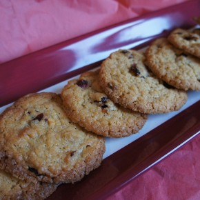 White Chocolate and Cranberry Cookies for The Great Food Blogger Cookie Swap