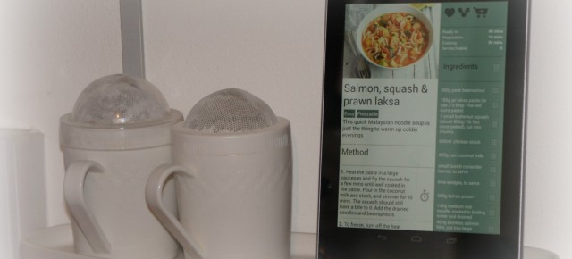 Review: Cooking with the Nexus 7